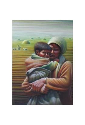 Anatolian Anne Ve Çocuk/mother And Son