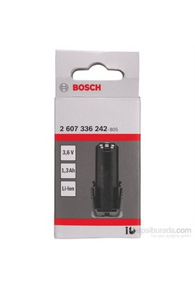 Bosch - 3,6-V Çubuk Akü Paketi - Sd, 1,3 Ah, Li Ion