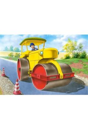 Castorland Puzzle Road Roller (120 Parça)
