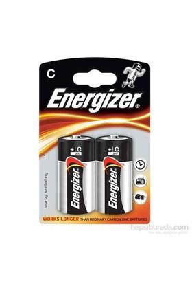 Energizer (D5-5821/7324) Base Alkalin C Orta Boy Pil 2'li Blister