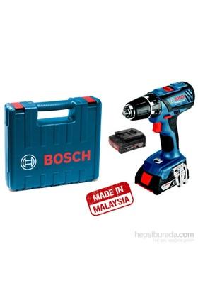 Bosch Gsr 18-2-Lı Plus Akülü Delme/Vidalama (Plastik Çantalı)