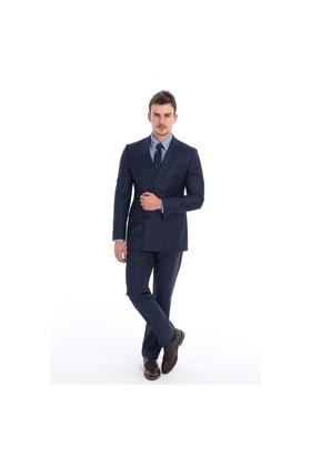 Kiğılı Kruvaze Slımfıt Takım Elbise 6K1d9krs25