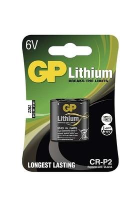 GP Tekli CR-P2 6V Lityum Pil (GPCR-P2-U1)