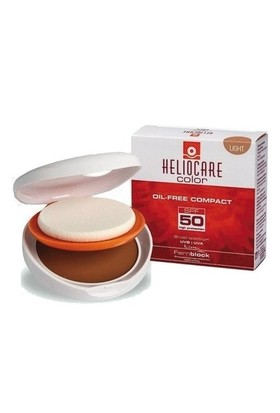 Heliocare Color Oil Free Compact Spf 50 10 Gr (Light - Buğday Ten
