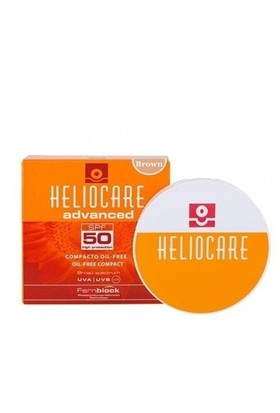 Heliocare Advanced Compact Oil Free Spf 50 10 Gr ( Brown Kahveren