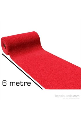 Homecare 6 Metre Kırmızı Kıvırcık Paspas 1 Mt Genişlik 091012