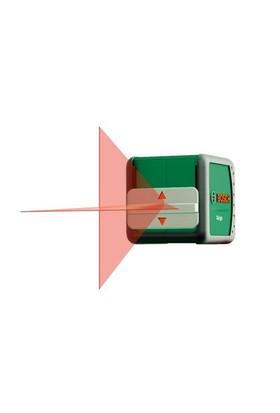 Bosch Quigo Çapraz Çizgili Hizalama Lazeri (Ölçme Mesafesi : 5 Metre)