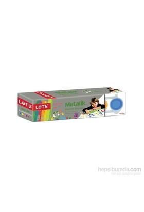 Lets Parmak Boyası 25Ml 6 Renk Metalik L5525