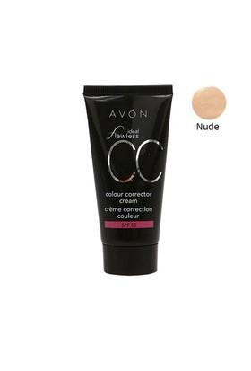 Avon Ideal Flawless Cc Krem Fondöten Spf50 Nude