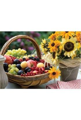 KS Games Puzzle Fruit And Sunflower (1000 Parça)