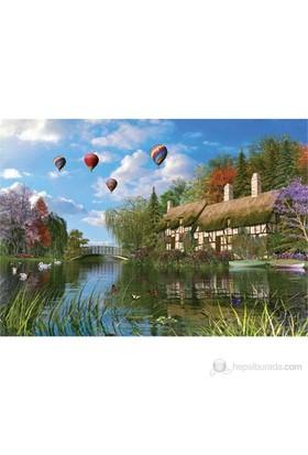 Ks Games 1000 Parça Old River Cottage Puzzle