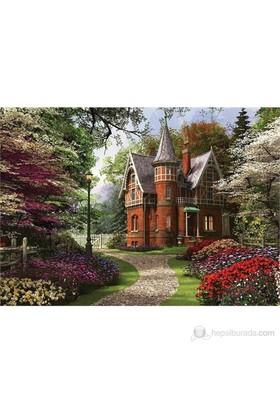 Ks Games 2000 Parça Puzzle Victorian Cottage İn Bloom