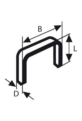 Bosch 14 Mm Zımba Teli
