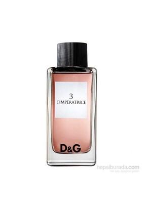Dolce Gabbana Limperatrice 3 Edt 100 Ml
