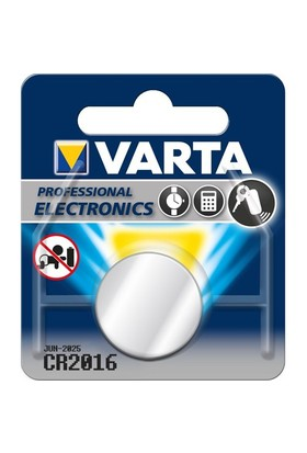 Varta Professional Cr2016 Lithium 3V Bls 1 6016101401