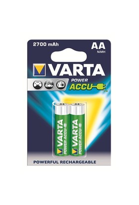 Varta Power Accu Kalem Pil - AA 2.700mAh 2'li 56766101402