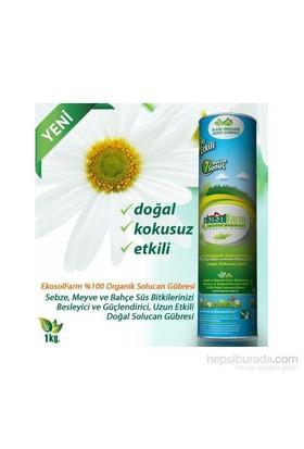 Ekosolfarm %100 Organik Solucan Gübresi® 1 Kg / Silindir Ambalaj