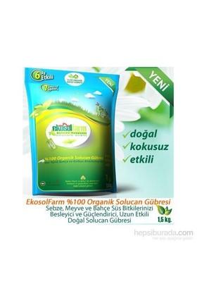 Ekosolfarm %100 Organik Solucan Gübresi® 1,5 Kg / Doypack Ambalaj