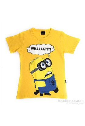 Köstebek Minion - Whaa Çocuk T-Shirt