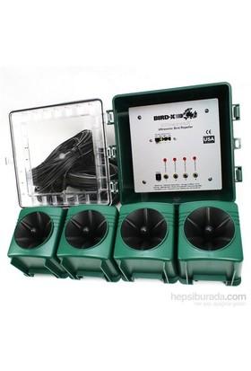 Bird-X Ultrasonix Kuş Kovucu- Uzaklaştırıcı Cihaz 334M2 Etkili
