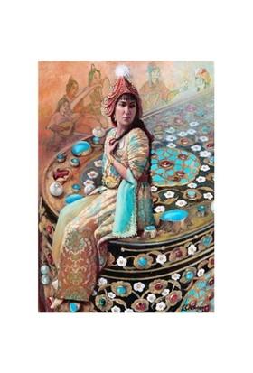 Educa Puzzle Çeşmisafa Sultan Ve Yazı Kutusu (1000 Parça)