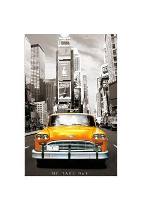 Educa Puzzle Minyatür Taxi No.1, New York (1000 Parça)