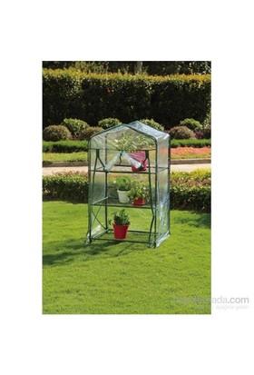 Agromak Portatif Bahçe Serası 69(L)X49(W)X124Cm(H) 4403