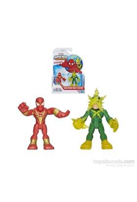Marvel Super Hero Adventures Spider-Man Electro Figures