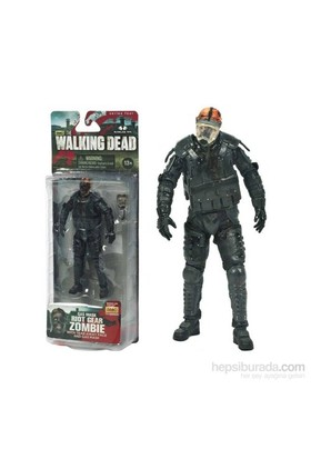 The Walking Dead:Riot Gear Gas Mask Zombie Figür Tv Series 4