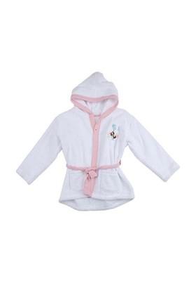 Zeyland Kız Çocuk Ekru Bornoz K-52H672625