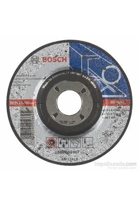 Bosch - Expert Serisi Metal İçin Bombeli Taşlama Diski (Taş) - A 30 T Bf, 115 Mm, 4,0 Mm
