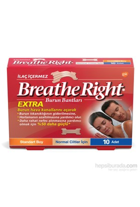Breathe Right Burun Bandı Extra 10'lu