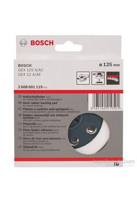 Bosch - Zımpara Tabanı - Sert, 125 Mm