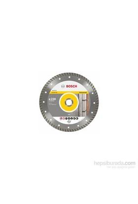 Bosch - Expert Serisi Tüm Malzemeler İçin Turbo Segman Elmas Kesme Diski - 115 X 22,23 X 2 X 10 Mm