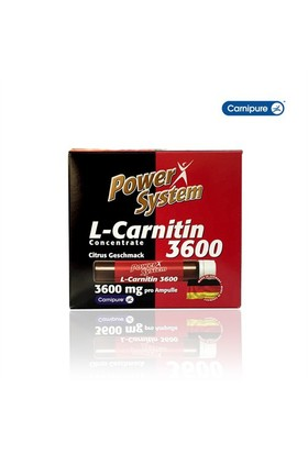 Power System L-Carnitin (3600 mg x 20 ampul)