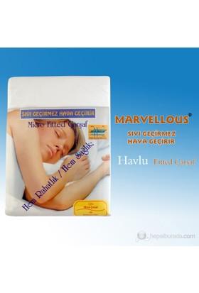 Marvellous Su Geçirmez Havlu Ped 90x190 (Kenarları Lastikli)