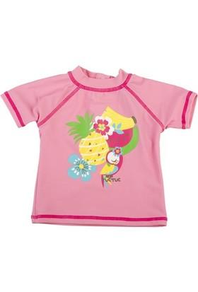 Tuc Tuc Kız Çocuk Uv Korumalı T-Shirt Mayo, Coconut