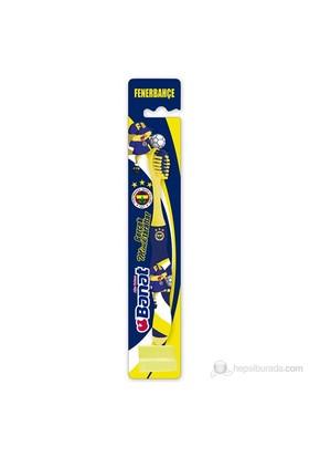 Banat Taraftar Çocuk Diş fırçası (Fenerbahçe)(Yumuşak,kokulu,kauçuk saplı)