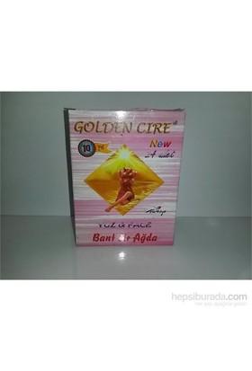 Golden Cire Yüz İçin Sir Ağda Bandı 24 Adet