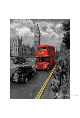 Art Puzzle 1000 Parça Puzzle Londra Otobüsü