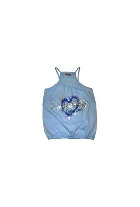 Zeyland Kız Çocuk Mavi Bluz K-Nak55