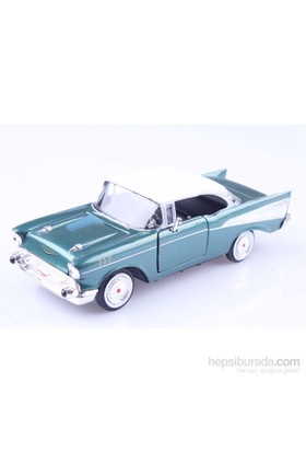 Diecast 1957 Chevy Bel Air 1/24 Die Cast Model Araç