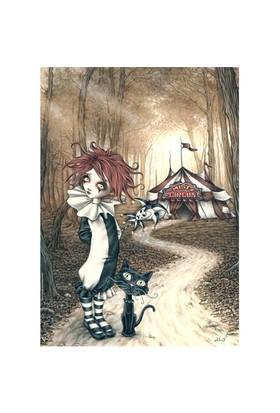 Heye Puzzle Tent, Misty Circus (1000 Parça)