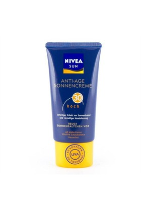 Nivea Sun Anti-Aging Face Sun Yaşlanma Karşıtı Yüz