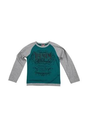 Zeyland Kız Çocuk Yesil T.Shirt Bis.Yaka K-42Z584cdp66