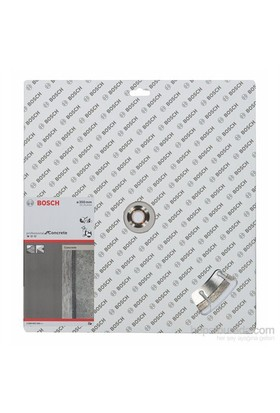 Bosch - Standard Seri Beton İçin Elmas Kesme Diski - 350 X 20,00+25,40 X 2,8 X 10 Mm