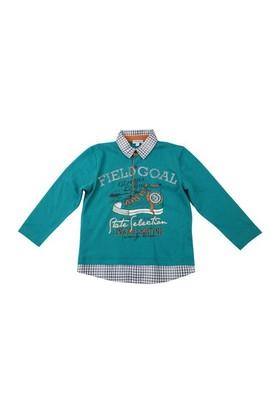 Zeyland Erkek Çocuk Yesil T.Shirt Polo Yaka K-42M523mvd61