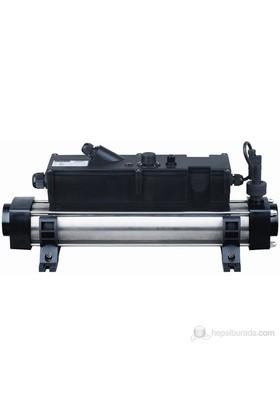 Waterfun Havuz Isıtıcı Elektronik Titanium 12 Kw Flow Line Trı Wf/Elc