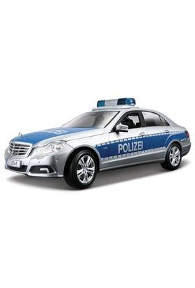 Maisto Mercedes E-Class Polizei Model Araba 1:18 Gri