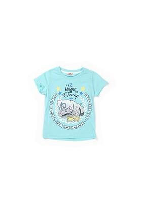 Zeyland Erkek Çocuk Turkuaz T-Shirt - K-61KL1752